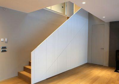 Hiša s skandinavskim pridihom - stopnišče