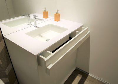 Hiša s skandinavskim pridihom - kopalnica