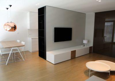 Stanovanje pastelov - jedilnica ter dnevna soba