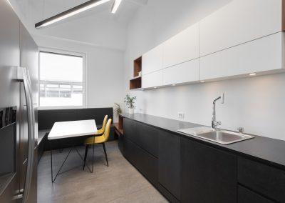 Novi poslovni prostori v nekdanji tovarni: čajna kuhinja